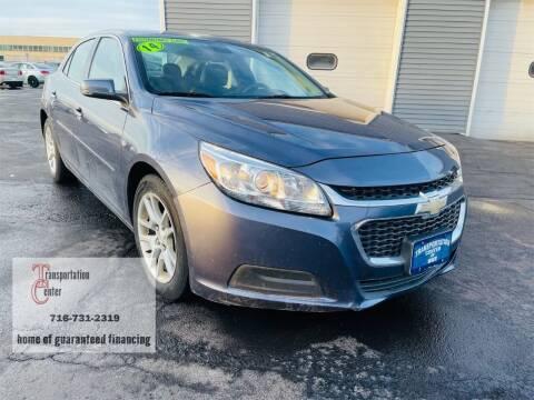 2014 Chevrolet Malibu for sale at Transportation Center Of Western New York in Niagara Falls NY