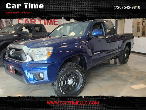 2015 Toyota Tacoma for sale at Car Time in Denver CO