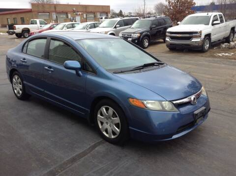 2006 Honda Civic for sale at Bruns & Sons Auto in Plover WI