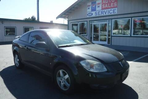 2009 Pontiac G5 for sale at 777 Auto Sales and Service in Tacoma WA