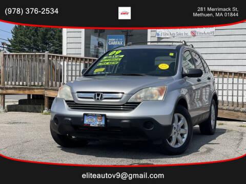 2009 Honda CR-V for sale at ELITE AUTO SALES, INC in Methuen MA