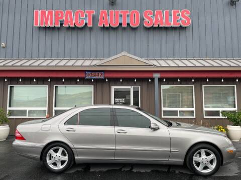 2004 Mercedes-Benz S-Class for sale at Impact Auto Sales in Wenatchee WA