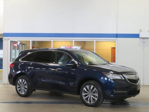 2016 Acura MDX for sale at Terry Lee Hyundai in Noblesville IN