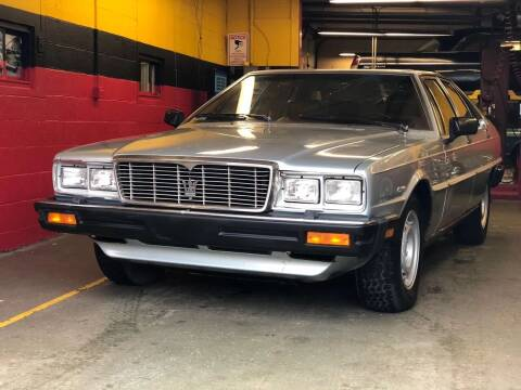 1984 maseratti quattroporte for sale at Milford Automall Sales and Service in Bellingham MA