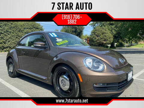 2013 Volkswagen Beetle for sale at 7 STAR AUTO in Sacramento CA