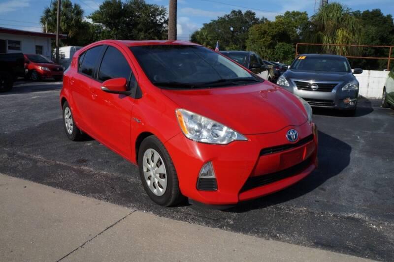 2013 Toyota Prius c for sale at J Linn Motors in Clearwater FL