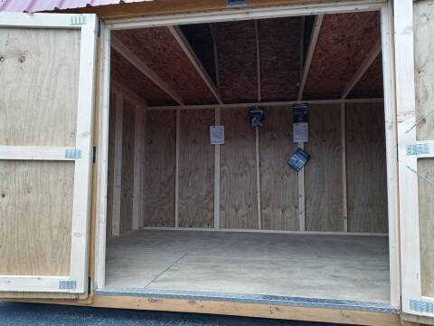2021 Old Hickory Builldings Lofted Barn 10x12 for sale at Cannon Falls Auto Sales in Cannon Falls MN
