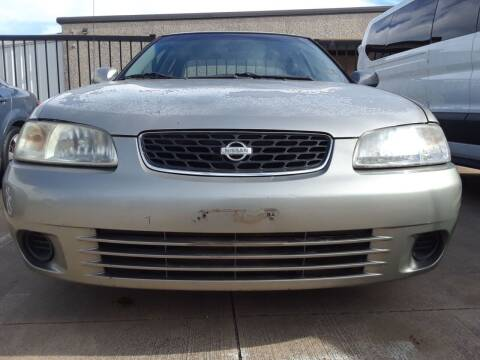 2001 Nissan Sentra for sale at Auto Haus Imports in Grand Prairie TX