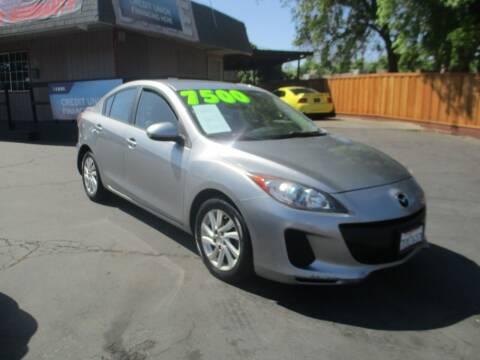 2012 Mazda MAZDA3 for sale at Quick Auto Sales in Modesto CA