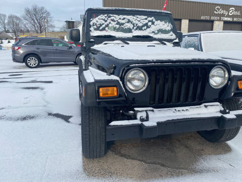 2006 Jeep Wrangler for sale at Story Brothers Auto in New Britain CT