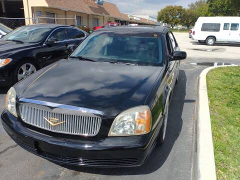 2003 Cadillac DeVille for sale at LAND & SEA BROKERS INC in Deerfield FL