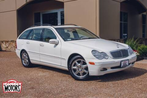 2004 Mercedes-Benz C-Class for sale at Mcandrew Motors in Arlington TX