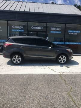 2014 Ford Escape for sale at Georgia Certified Motors in Stockbridge GA