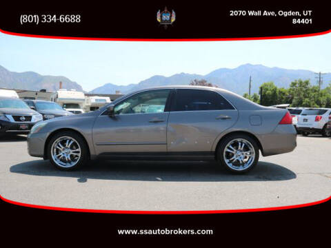 2006 Honda Accord for sale at S S Auto Brokers in Ogden UT