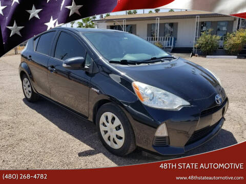 2013 Toyota Prius c for sale at 48TH STATE AUTOMOTIVE in Mesa AZ
