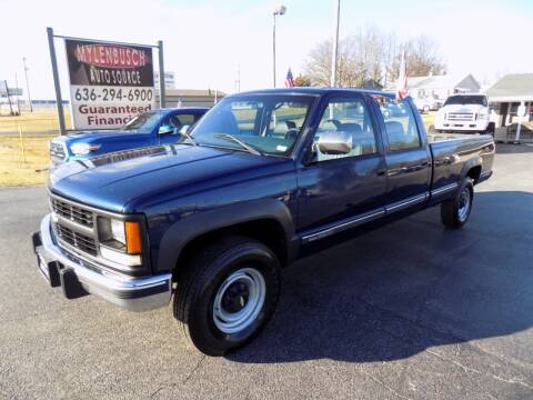 2000 Chevrolet C/K 3500 Series for sale at MYLENBUSCH AUTO SOURCE in O` Fallon MO