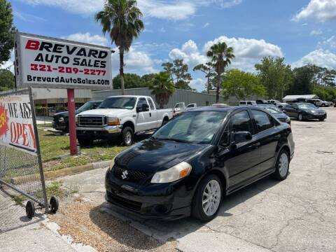 2008 Suzuki SX4 for sale at Brevard Auto Sales in Palm Bay FL