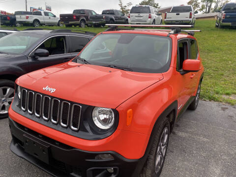 2015 Jeep Renegade for sale at Ball Pre-owned Auto in Terra Alta WV