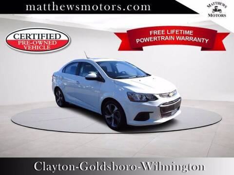 2020 Chevrolet Sonic for sale at Auto Finance of Raleigh in Raleigh NC