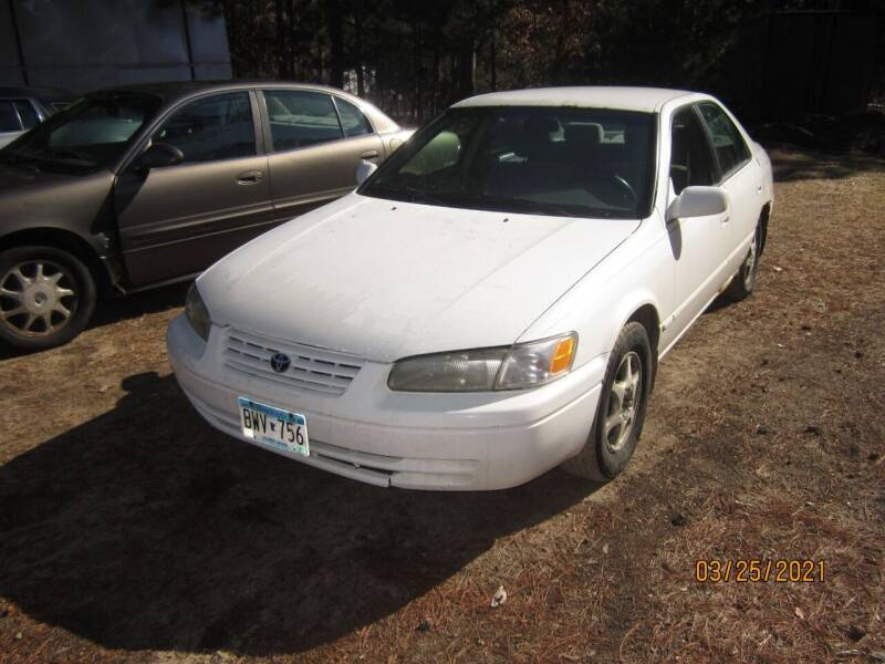 1999 Toyota Camry for sale at SUNNYBROOK USED CARS in Menahga MN
