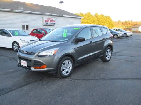 2014 Ford Escape for sale at Plainfield Auto Sales, LLC in Plainfield WI