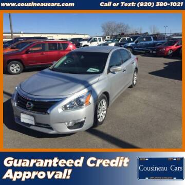 2013 Nissan Altima for sale at CousineauCars.com - Guaranteed Credit Approval in Appleton WI