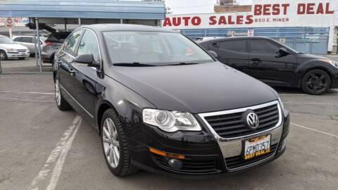 2010 Volkswagen Passat for sale at Best Deal Auto Sales in Stockton CA
