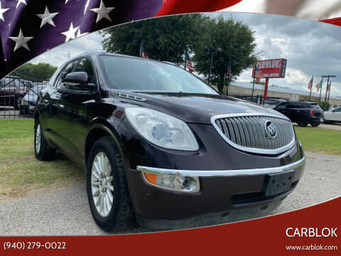 2009 Buick Enclave for sale at CARBLOK in Lewisville TX