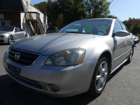 2002 Nissan Altima for sale at P&D Sales in Rockaway NJ