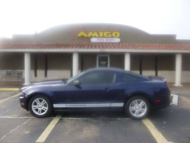2012 Ford Mustang for sale at AMIGO AUTO SALES in Kingsville TX