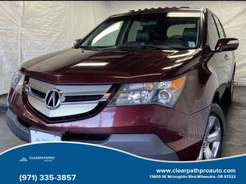 2007 Acura MDX for sale at CLEARPATHPRO AUTO in Milwaukie OR