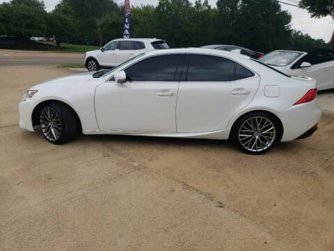 2015 Lexus IS 250 for sale at Crossroads Outdoor in Corinth MS