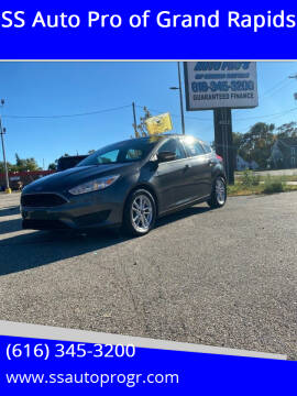 2015 Ford Focus for sale at SS Auto Pro of Grand Rapids in Kentwood MI