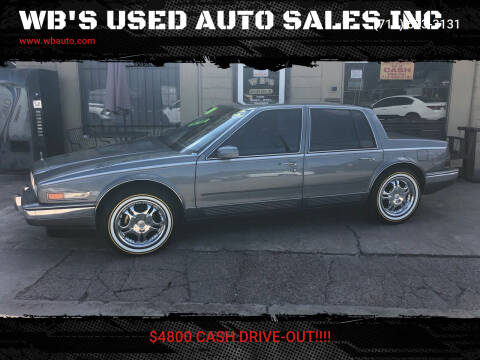 1988 Cadillac Seville for sale at WB'S USED AUTO SALES INC in Houston TX