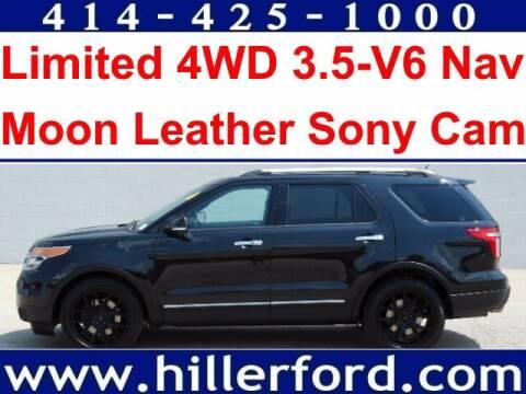 2013 Ford Explorer for sale at HILLER FORD INC in Franklin WI