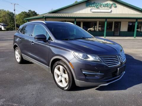 2015 Lincoln MKC for sale at Ridgeway's Auto Sales in West Frankfort IL