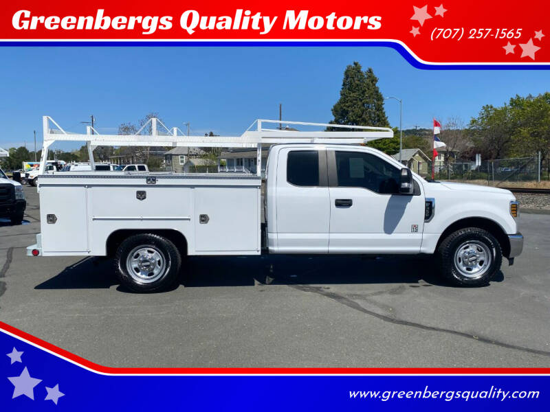 2018 Ford F-350 Super Duty for sale at Greenbergs Quality Motors in Napa CA