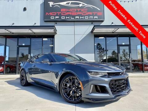 2019 Chevrolet Camaro for sale at Exotic Motorsports of Oklahoma in Edmond OK