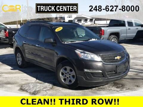 2016 Chevrolet Traverse for sale at Carite Truck Center in Ortonville MI