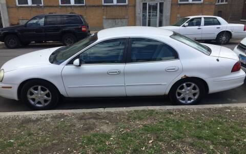 2002 Mercury Sable for sale at HW Used Car Sales LTD in Chicago IL