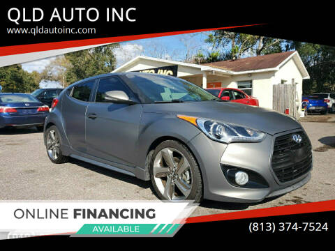2013 Hyundai Veloster for sale at QLD AUTO INC in Tampa FL