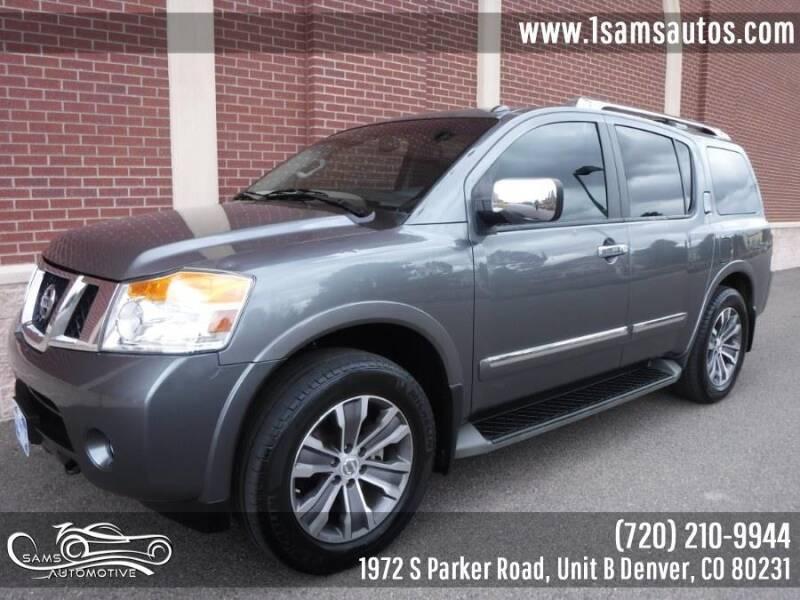 2015 Nissan Armada for sale at SAM'S AUTOMOTIVE in Denver CO