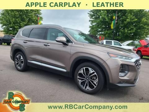 2019 Hyundai Santa Fe for sale at R & B Car Company in South Bend IN
