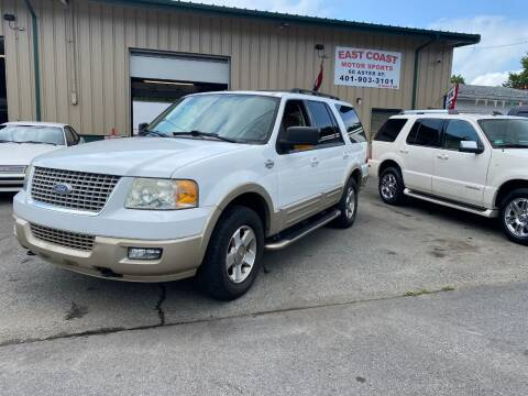 2006 Ford Expedition for sale at East Coast Motor Sports in West Warwick RI