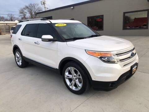 2012 Ford Explorer for sale at Tigerland Motors in Sedalia MO