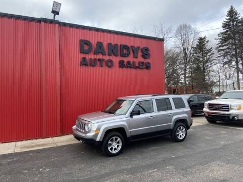 2016 Jeep Patriot for sale at Dandy's Auto Sales in Forest Lake MN