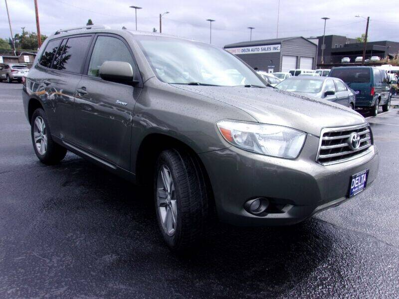 2008 Toyota Highlander for sale at Delta Auto Sales in Milwaukie OR