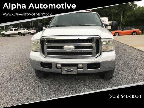 2005 Ford F-350 Super Duty for sale at Alpha Automotive in Odenville AL
