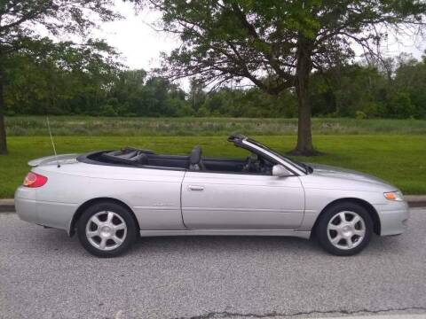 2002 Toyota Camry Solara for sale at Laurel Wholesale Motors in Laurel MD