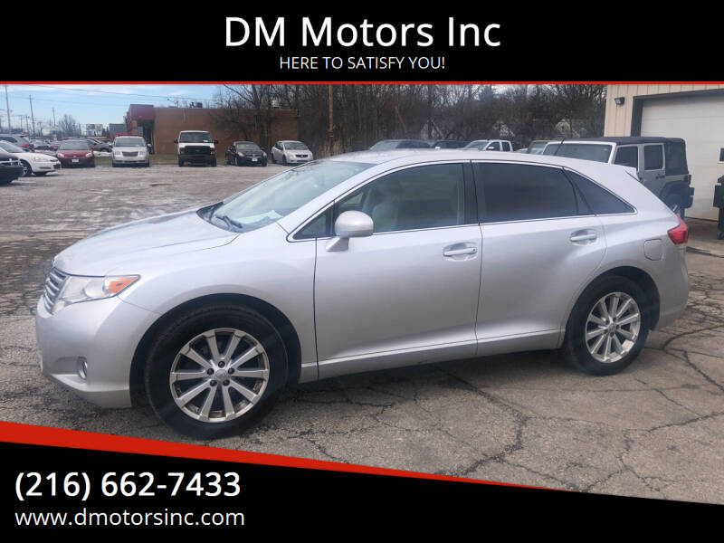 2010 Toyota Venza for sale at DM Motors Inc in Maple Heights OH